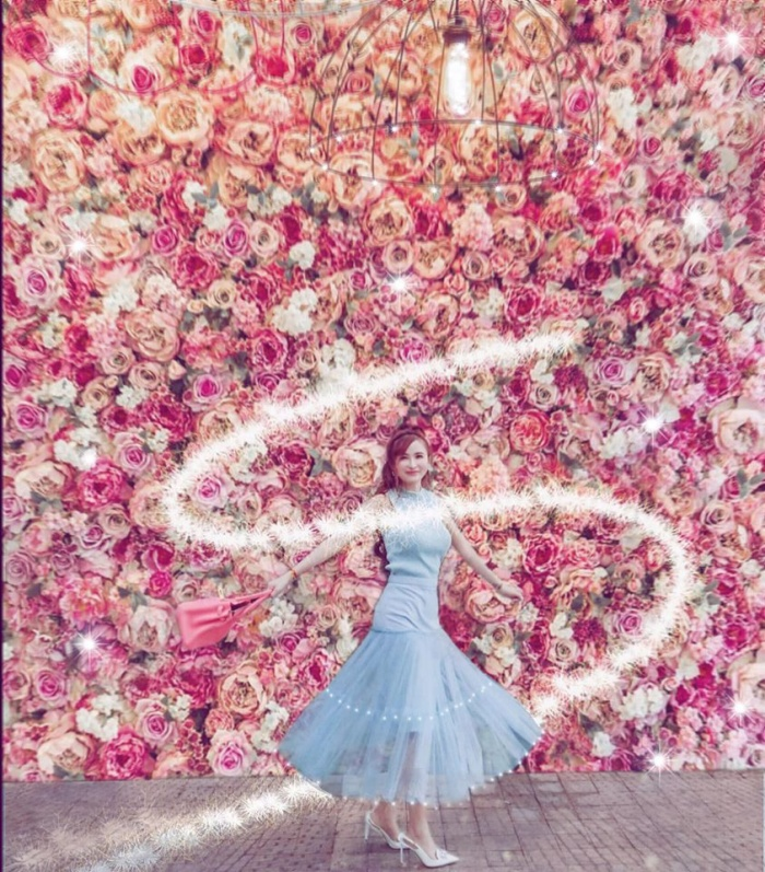 Chíu chíu, hồng hồng lấp lánh như công chúa.