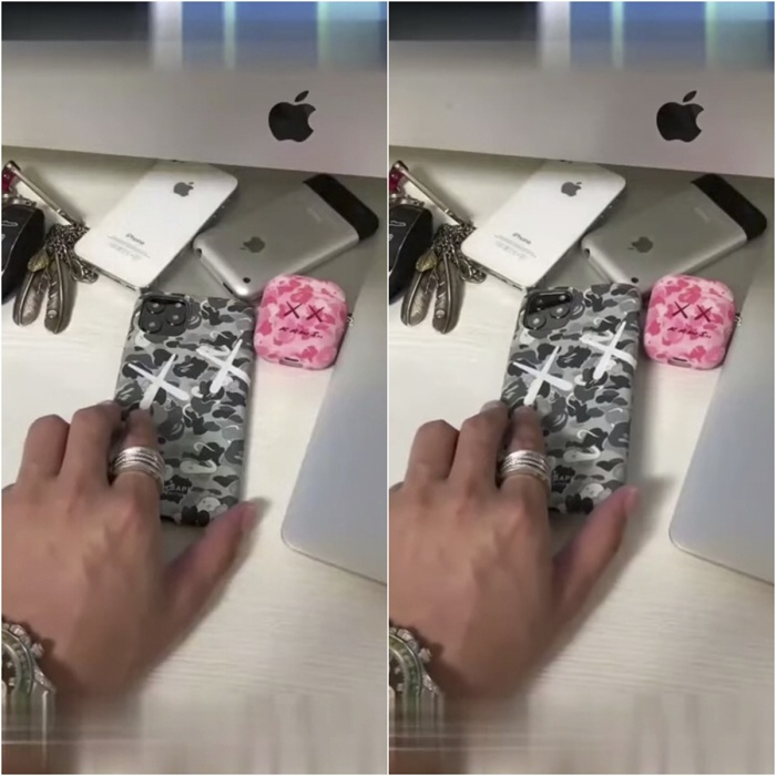 Hình ảnh mặt lưng chiếc iPhone 11 Pro vừa được tiết lộ.