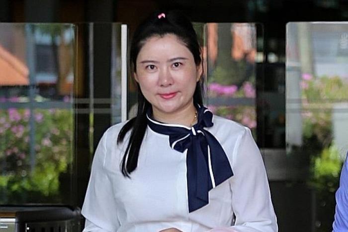Cô Angelina Jiang, 33 tuổi, làm nghề kinh doanh bất động sản, là tình nhân của vị đại gia người Singapore.