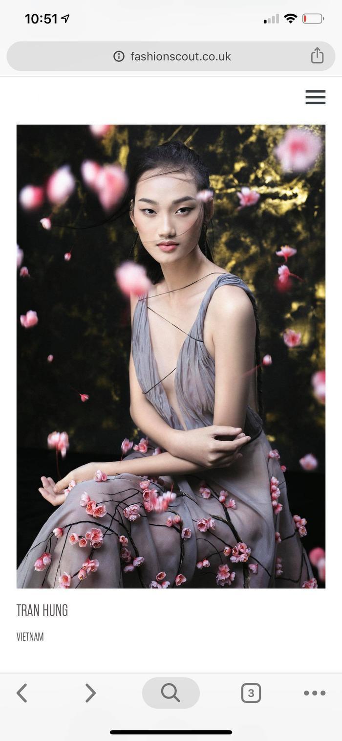 NTK Trần Hùng đem BST lên sàn diễn tại London Fashion Week 2019 ảnh 0
