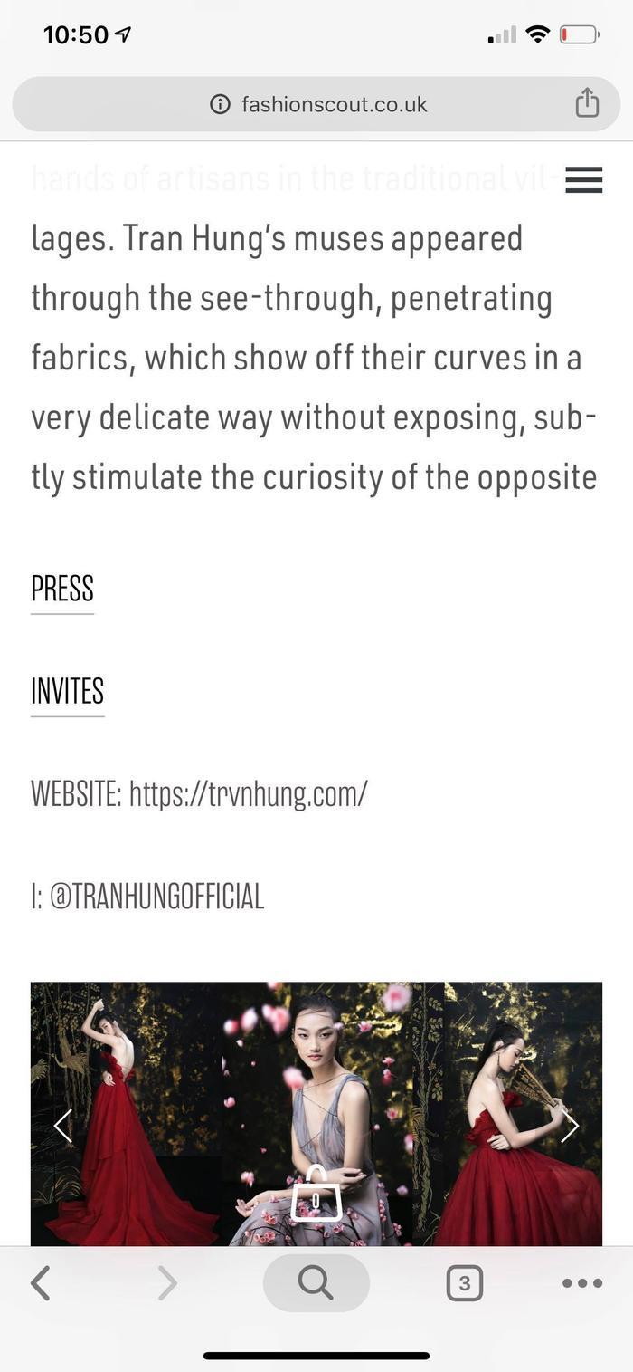 NTK Trần Hùng đem BST lên sàn diễn tại London Fashion Week 2019 ảnh 5