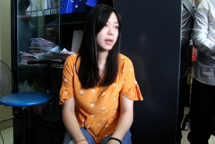 Chị Vũ Thu L. cho biết đã rút đơn tố cáo chồng.