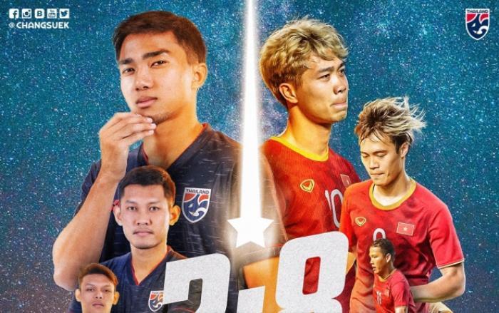 Truyền thông Thái Lan chế giễu, gọi tuyển Việt Nam là đối thủ yếu nhất