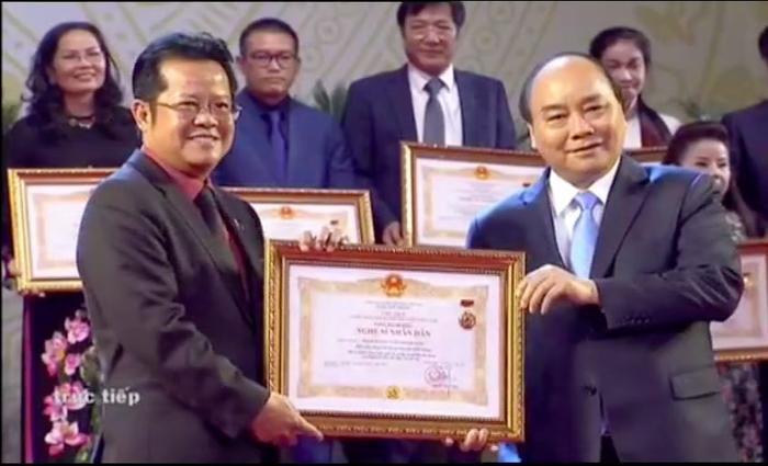 Cùng với Minh Vương, Thanh Tuấn, Thoại Miêu, nghệ sĩ Thanh Nam là một trong các nghệ sĩ cải lương vinh dự nhận danh hiệu NSND lần này.