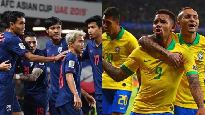 Trận Thái Lan – Brazil sẽ không diễn ra.