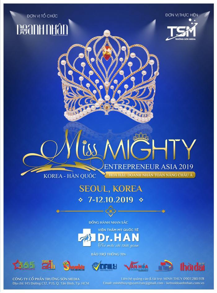 Công ty Trường Sơn Media - đơn vị sở hữu bản quyền và tổ chức cuộc thi Hoa hậu Doanh nhân Toàn năng châu Á 2019.