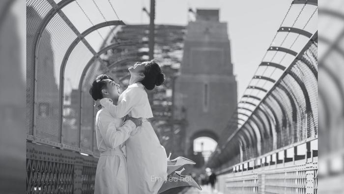 Ngắm nhìn loạt ảnh cưới hạnh phúc của Đông Nhi  Ông Cao Thắng trước thềm hôn lễ thế kỷ 9/11 ảnh 3