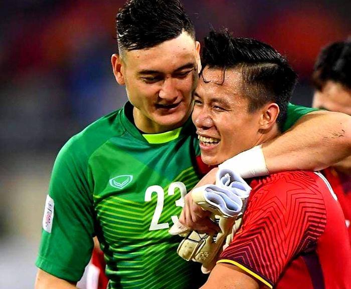 Cặp đôi bạn thân Lâm Tây - Hải Quế của ĐT Việt Nam.