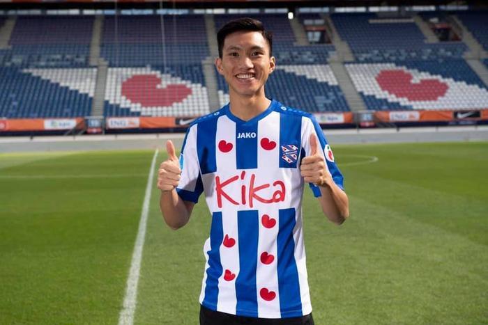 Đoàn Văn Hậu chính thức ký hợp đồng với CLB Heerenveen.