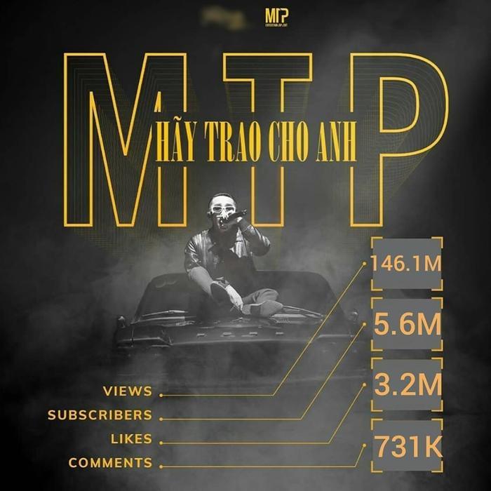 Những thông số mà MV Hãy trao cho anh đã đạt được sau 2 tháng lên sóng.