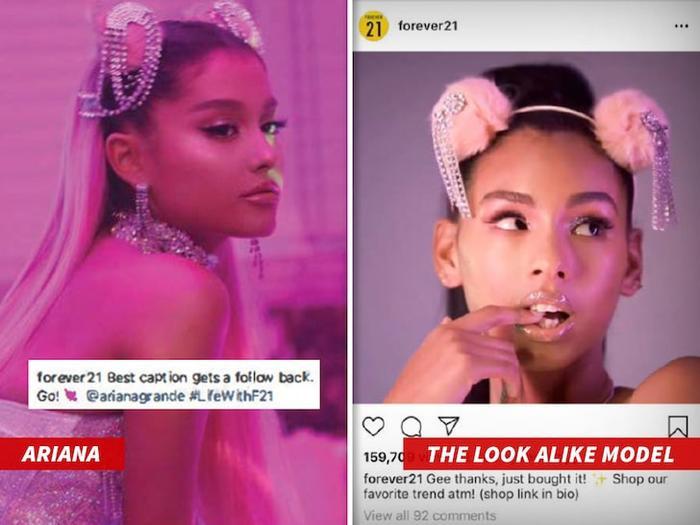 Chưa xử lý xong lùm xùm phá sản, Forever 21 tiếp tục hứng 'sao quả tạ' với đơn kiện 10 triệu đô từ Ariana Grande