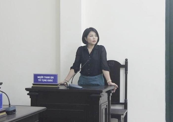 Nguyễn Thị Vững - cựu cán bộ công an vừa bị khởi tố.