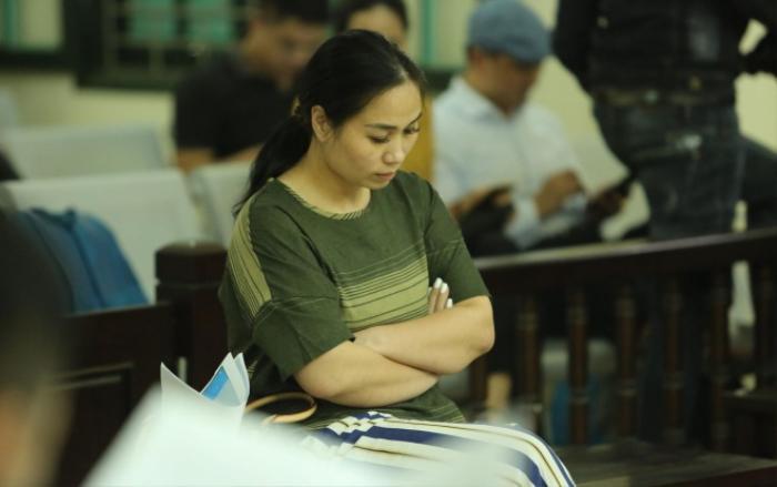 Nguyễn Thị Vân ân hận sau những hành động của mình.
