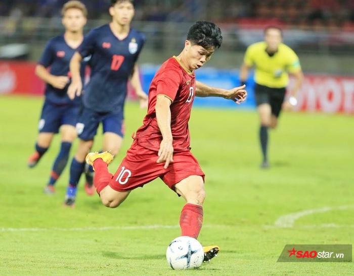 Công Phượng là cầu thủ có nhiều pha bóng tạo nguy hiểm nhất cho tuyển Việt Nam trước Thái Lan.