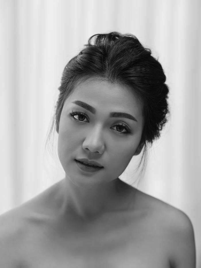 Chuyên gia trang điểm An Nguyễn đã tôn trọn nét đẹp mềm mại của hoa hậu