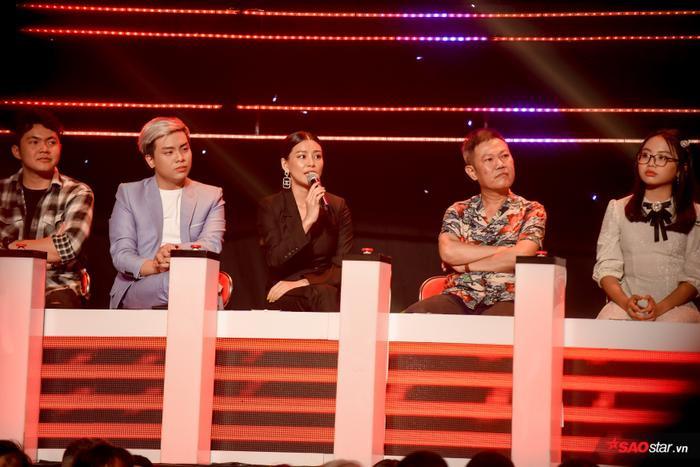 Ca sĩ - nhạc sĩ Bùi Lan Hương nhận xét về phần thi của các bé thí sinh.