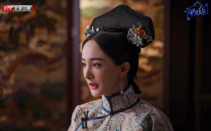 Hóa thân thành phi tần nhà Thanh, Dương Mịch làm khán giả nhớ đến nàng Tình Xuyên trong Cung tỏa tâm ngọc năm nào ảnh 4
