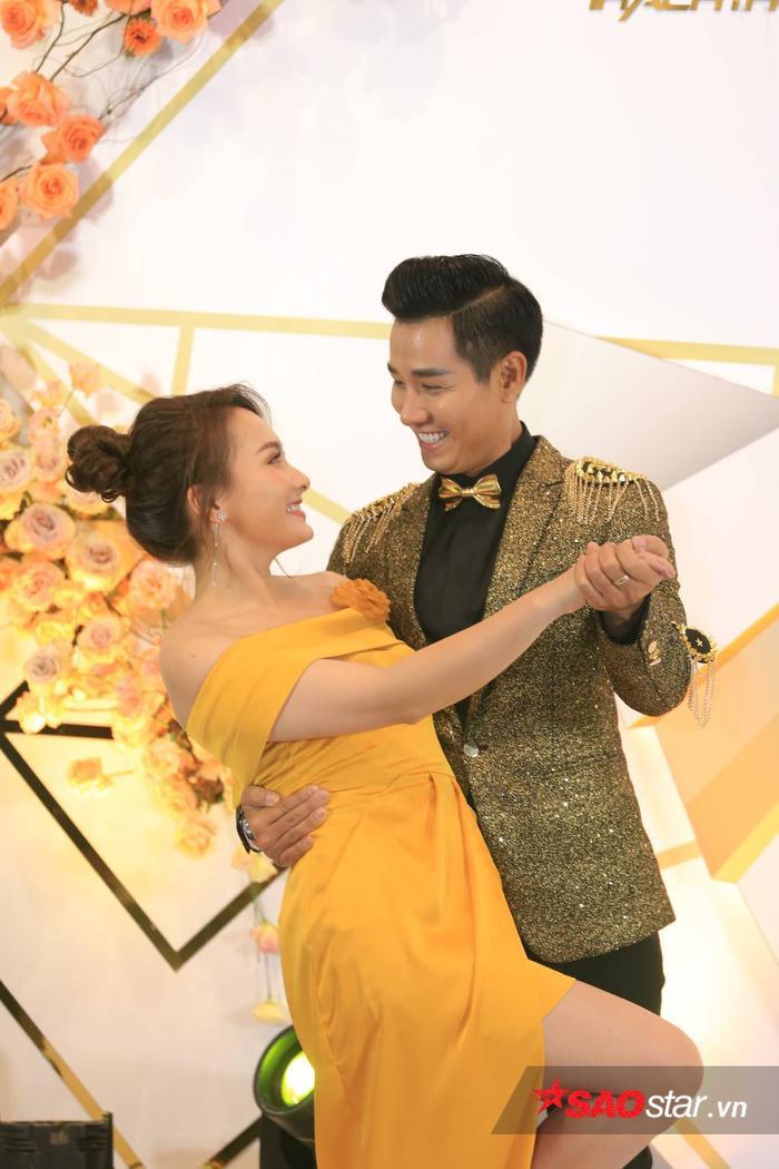 Bảo Thanh và Nguyên Khang.
