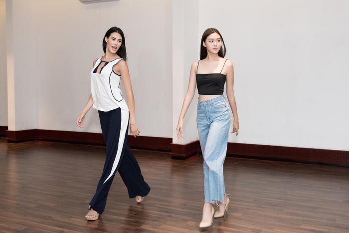 Trực tiếp dạy catwalk, Hoa hậu Quốc tế tặng Tường San bí quyết đăng quang Miss International 2019 ảnh 3