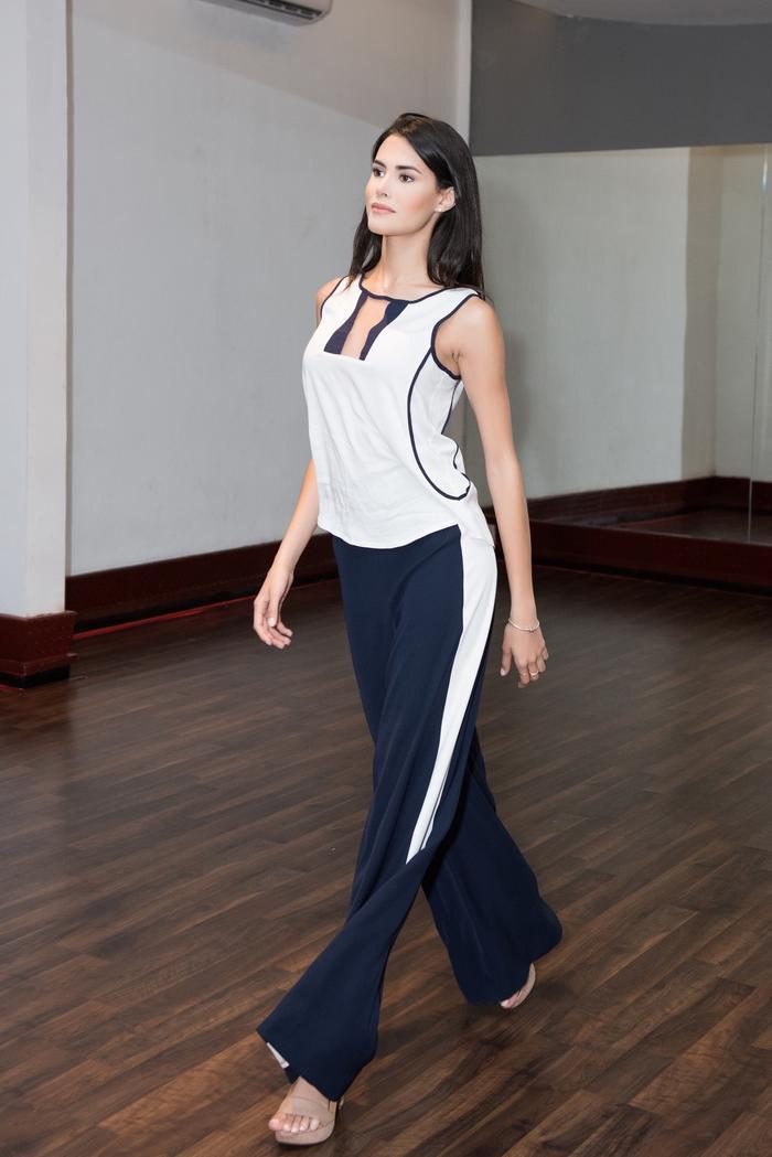 Trực tiếp dạy catwalk, Hoa hậu Quốc tế tặng Tường San bí quyết đăng quang Miss International 2019 ảnh 2