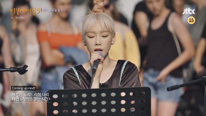 Taeyeon (SNSD) trình diễnWhen We Were Youngcủa Adele khiến khán giả Đức bật khóc.