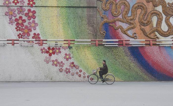 Một bức ảnh được chụp ở Hà Nội.
