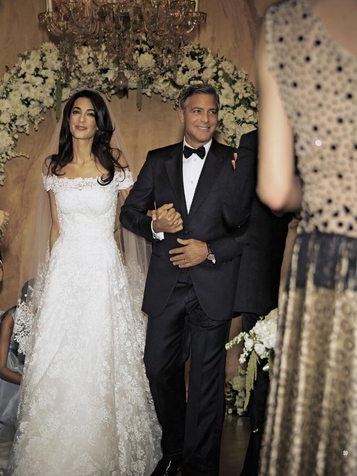 Với hơn 4 triệu USD, đám cưới hoành tráng của cặp đôi này cũng là một trong những tâm điểm đáng chú ý trong năm 2014.