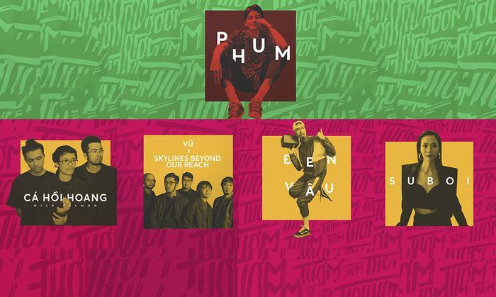 Thơm Music Festival là một trong những show ca nhạc gắn liền với nghệ sĩ Indie được tổ chức thành công.