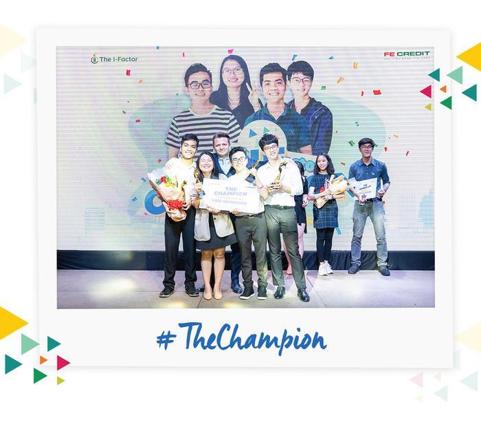 Nhà vô địch The I-Factor 2019 – nhóm THE SIXTH.