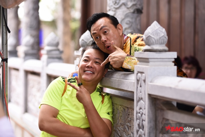 Chí Tài, Cát Phượng, Thúy Nga cùng đông đảo sao Việt tề tựu cúng Tổ tại nhà thờ của Hoài Linh ảnh 13