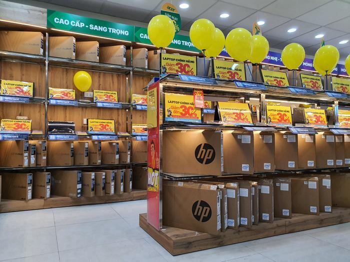 Hiện Thế giới Di động đã mở 26 trung tâm laptop bên trong các cửa hàng Thegioididong.com và Điện Máy Xanh ở TP.HCM, Đà Nẵng và Hà Nội.