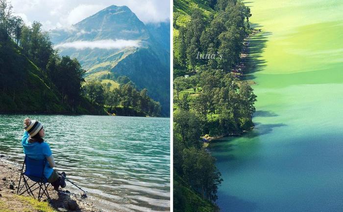 Hồ Segara Anak.
