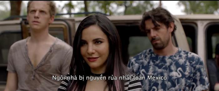 Phim kinh dị Trò đùa tử thần tung trailer đầy máu me tại căn biệt thự ma ám nổi tiếng nhất Mexico ảnh 6