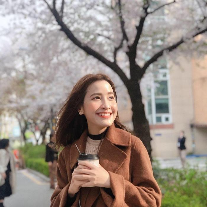 Hình ảnh xinh đẹp của nữ diễn viên Kim Nhã trên trang cá nhân.
