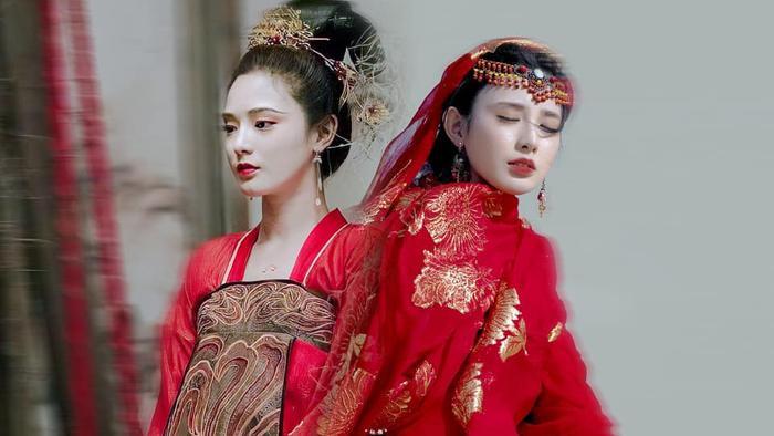 Gà cưng của Phạm Băng Băng  Bành Tiểu Nhiễm xinh đẹp trong tạo hình Dương Quý Phi ảnh 0