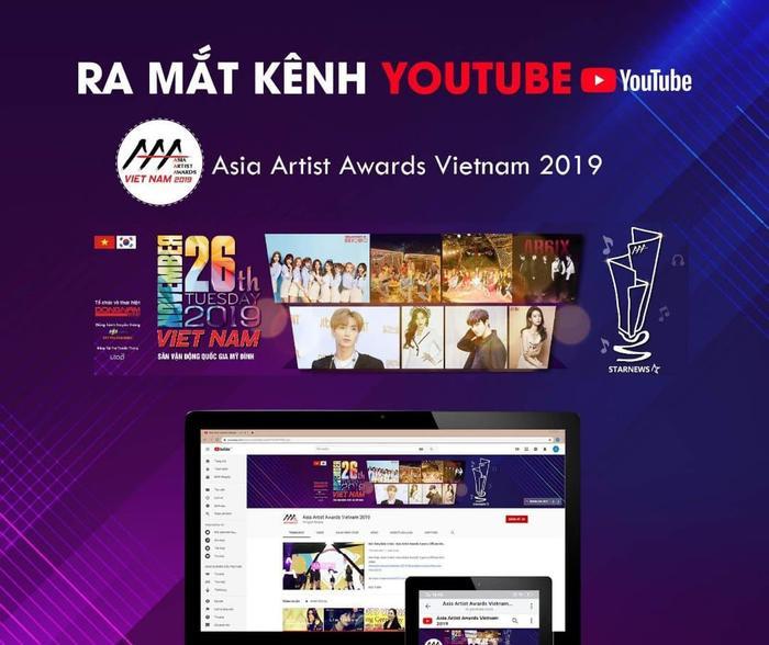 BTC AAA 2019 công bố kênh Youtube kèm poster có sự xuất hiện của 4 MC và những nhóm nhạc đầu tiên trong dàn line-up.
