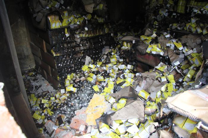 Khoảng 15,1-27,2kg thủy ngân được cho là phát tán ra môi trường.