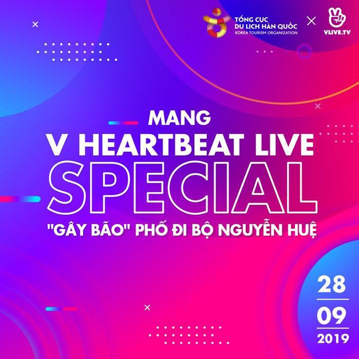 Noo Phước Thịnh, Gin Tuấn Kiệt hội ngộ khán giả V HEARTBEAT LIVE tháng 9 tại phố đi bộ Nguyễn Huệ ảnh 0