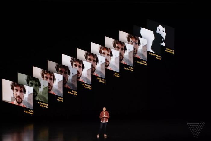 Tính năng Deep Fusion cho phép camera ghép 9 bức ảnh thành 1 bức duy nhất. (Ảnh: The Verge)
