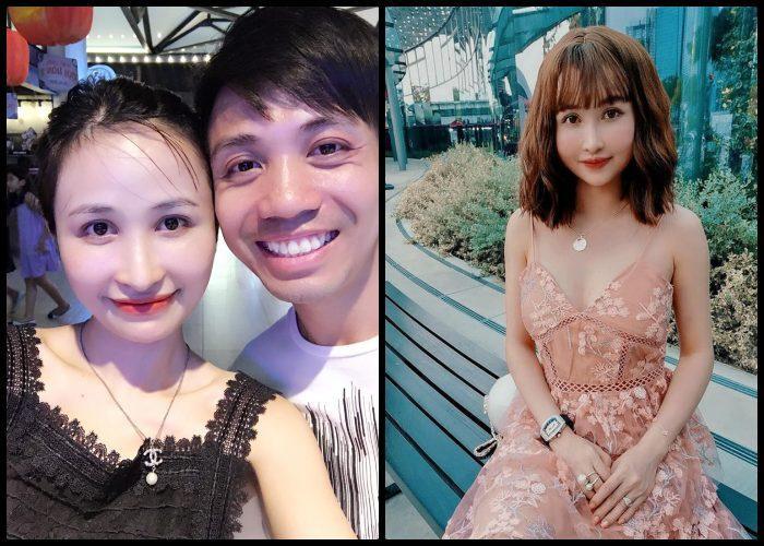 Đôi lúc không hiểu được phong cách của Mina là như thế nào - già dặn trưởng thành như bên trái, hay hoá gái teen như bên phải?