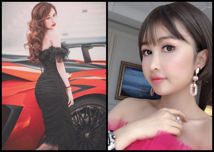 Bức ảnh mới nhất (bên phải) của Mina càng khiến người ta tin rằng cô đang cố gắng níu kéo tuổi xuân bằng các phần mềm chỉnh ảnh và make up.