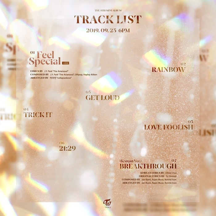 TWICE chuẩn bị tái xuất làng nhạc với mini album Feel Special.