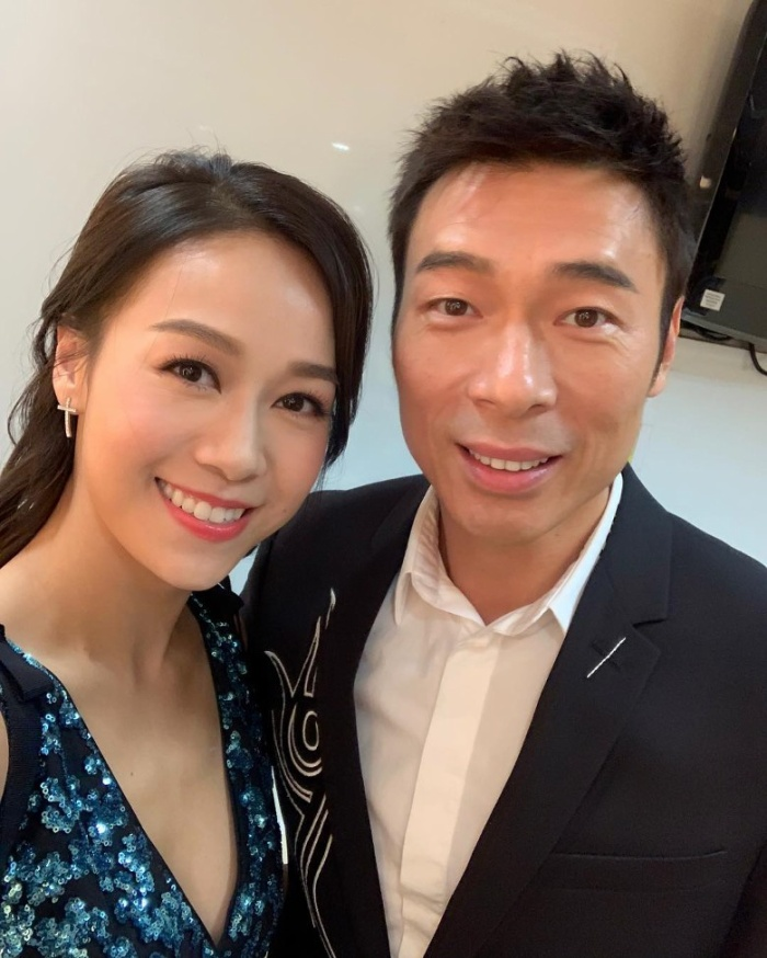 Huỳnh Tâm Dĩnh đang gặp may, TVB ân điển cho phim Ngưu hạ nữ cao âm thành phim khánh đài ảnh 4