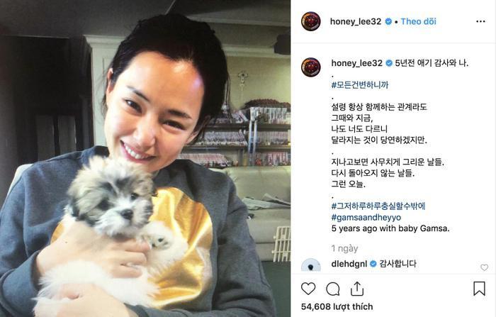 Giữa tin đồn chia tay Yoon Kye Sang, Hoa hậu Hàn Quốc Honey Lee lên tiếng ảnh 0