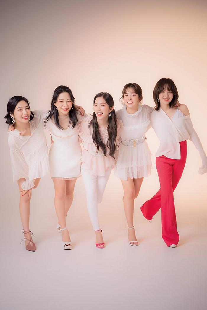 Nhóm Red Velvet.