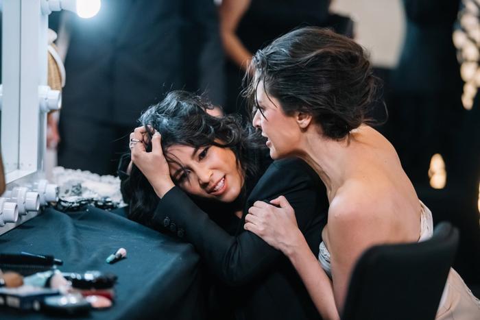Hình ảnh xuất hiện trong tập 1 của phim, mới mở màn đã là màn ẩu đả của 2 nữ chính đầy quyết liệt