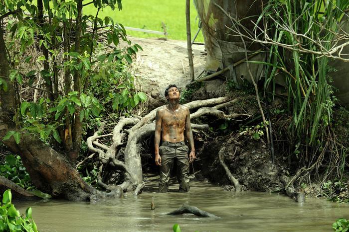 Những góc quay sông nước, rừng rậm tái hiện một An Giang nên thơ và thoáng đãng.