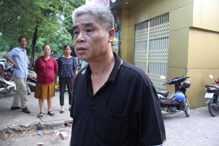 Khuôn mặt ông Phiến không giấu nổi vẻ mệt mỏi trong buổi thực nghiệm chiều 13/9.