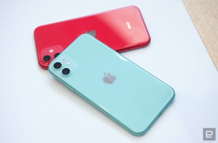 iPhone năm nay không có nhiều khác biệt về ngoại hình so với thiết bị tiền nhiệm.