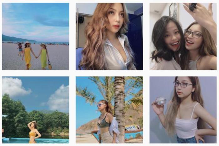 Instagram của Nhật Lê không có bất kì hình ảnh nào của Quang Hải.